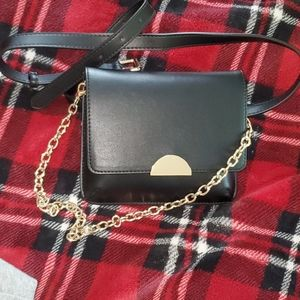 Black and Gold Bag/Fanny Pack